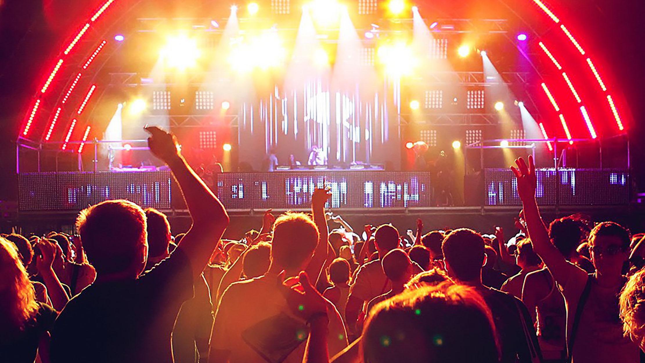 Live events professional sound lights